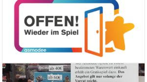 Offen! Wieder im Spiel ist auch Comic* Buch und Spiel in Oldenburg